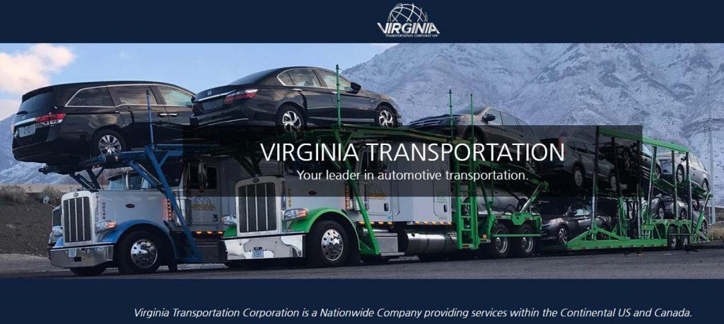 "We Are The Best, Because We Use The Best!"" Virginia Transportation"
